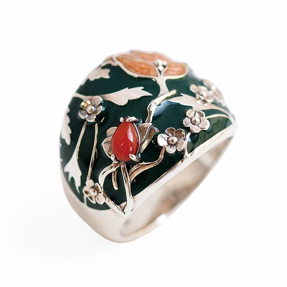 William Morris/ウィリアム・モリス メドウェイ ダークグリーン リング レディース 11~17 リング・指輪