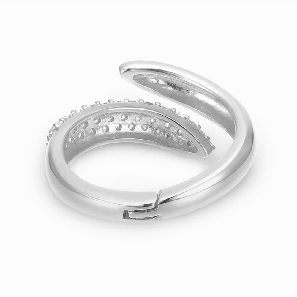 K18 ダイヤ フィットリング 【0.5ct】(イ)WG