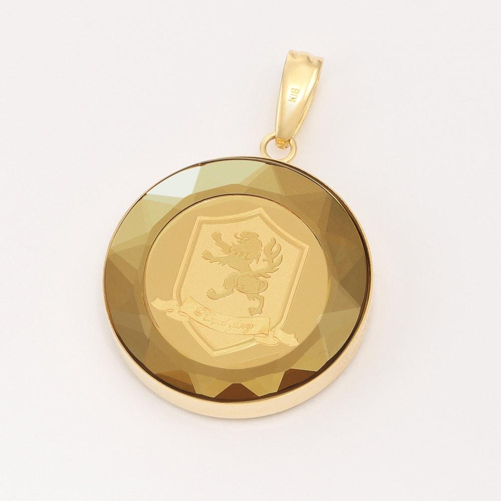 純金 1/25オンス 王冠コイン ペンダントヘッド 紋章