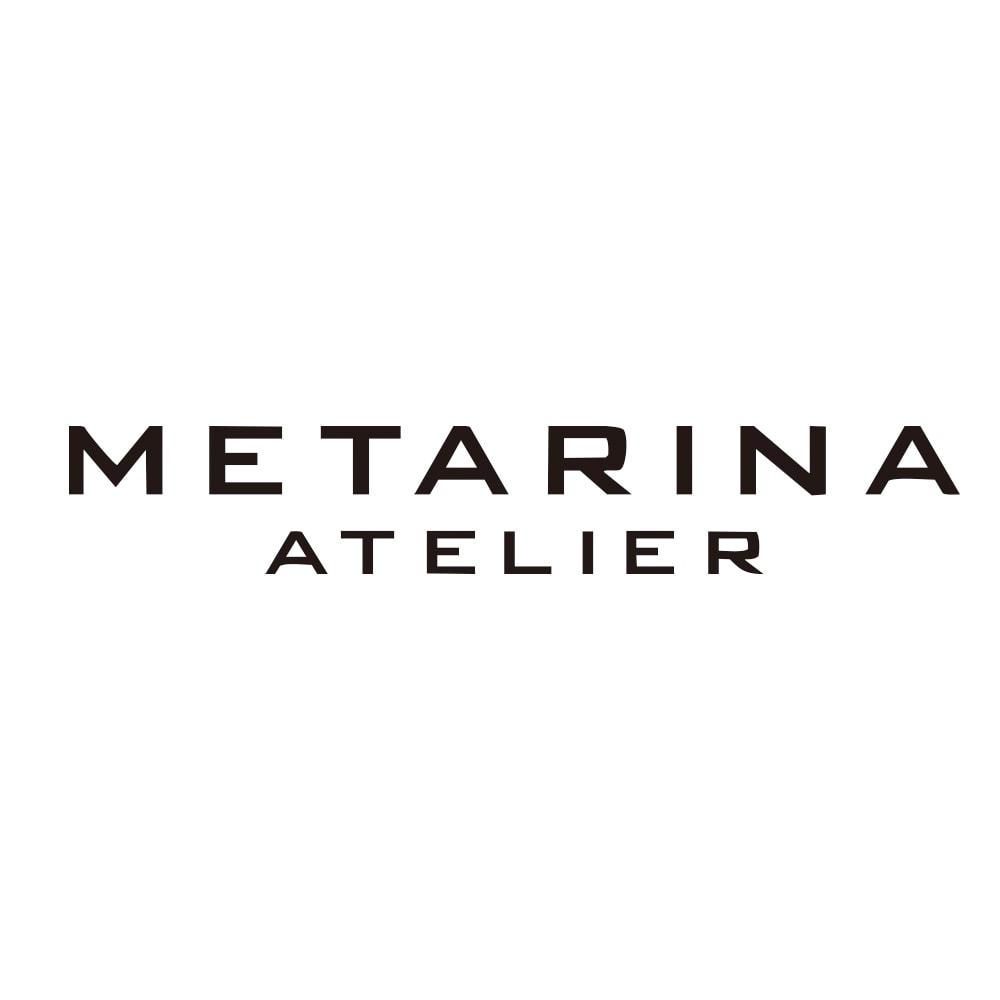 ATELIER METARINA/アトリエ メタリナ ビーズ フェザーチャーム付き ネックレス