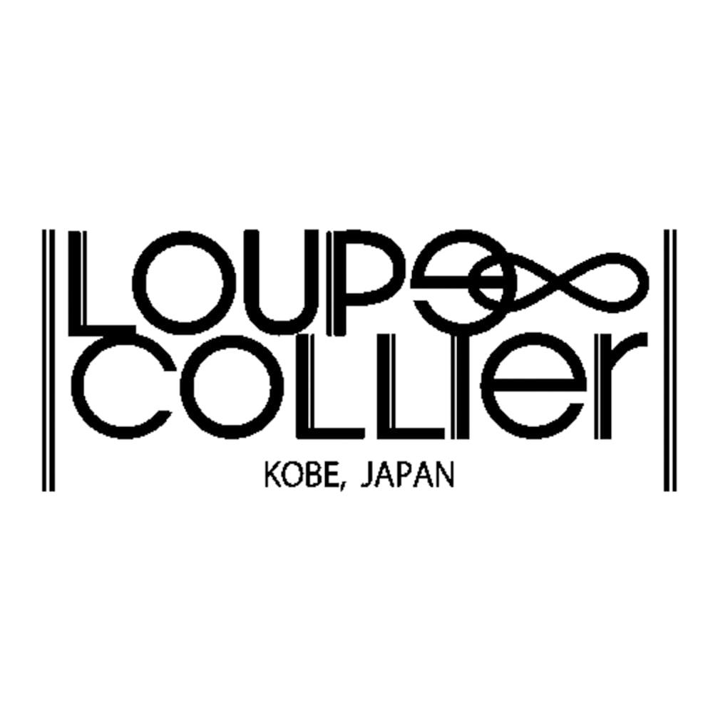 LOUPE COLLIER/ルーペコリエ ルーペ一体型 マルチカラーパール ネックレス