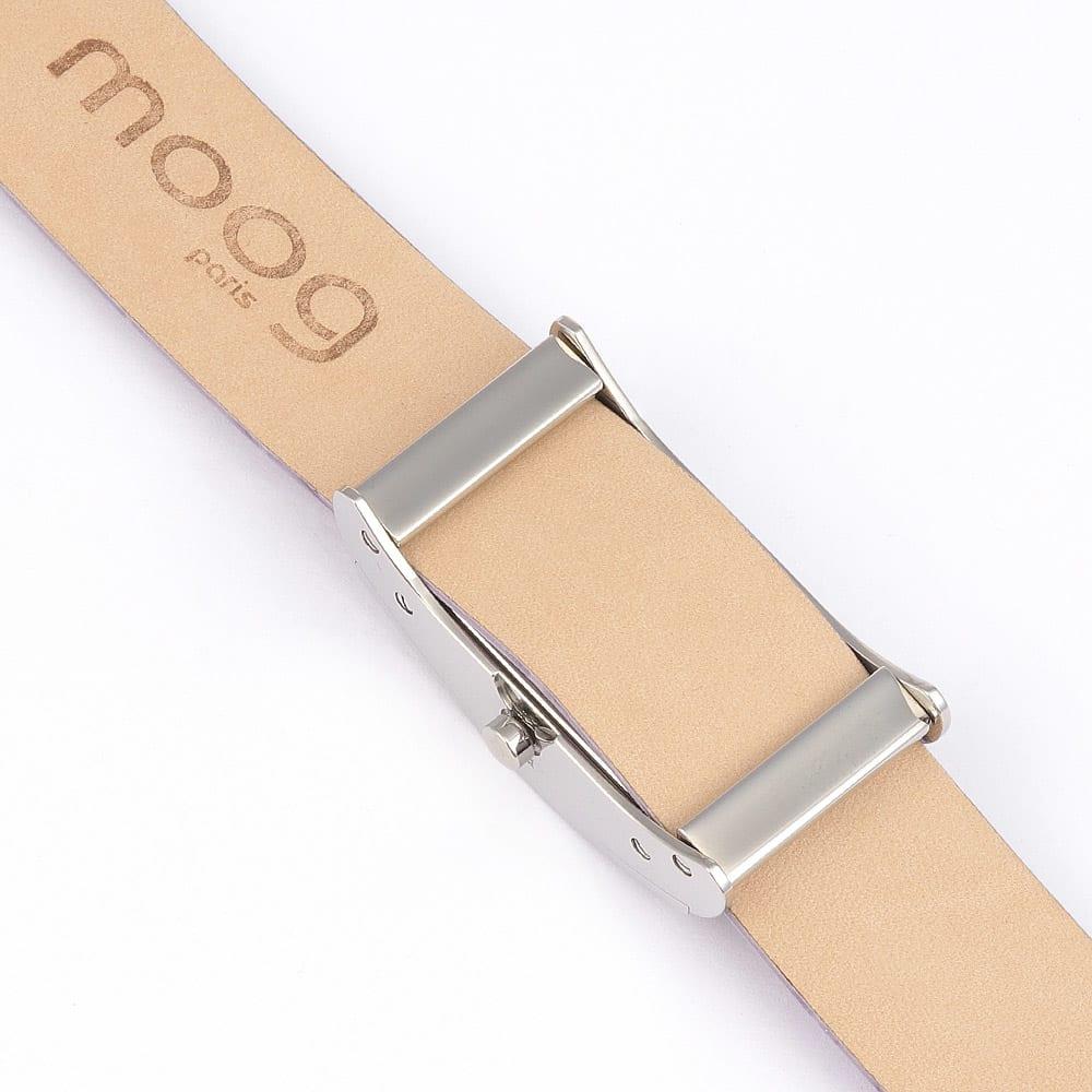 moog/ムック カルトポワン(チェンジベルト)(フランス製) (イ)ラベンダー×ダルメシアン BACK