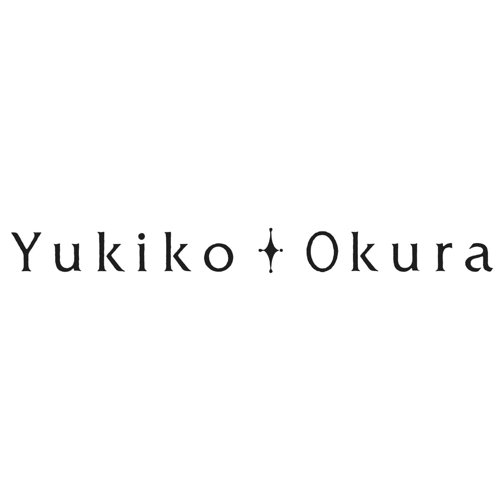 YUKIKO OKURA/ユキコ・オオクラ K10 白珊瑚 ステーション ロングネックレス