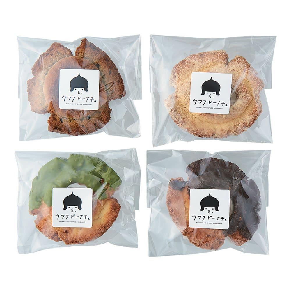 「ウフフドーナチュ」 フローズンドーナツ (4種計22個)【通常お届け】 可愛らしいロゴ入りの商品パッケージ