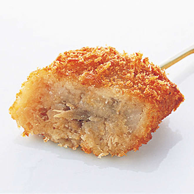 博多「華味鳥」 串揚げセット (5種 計50串) 鳥ごぼうコロッケ