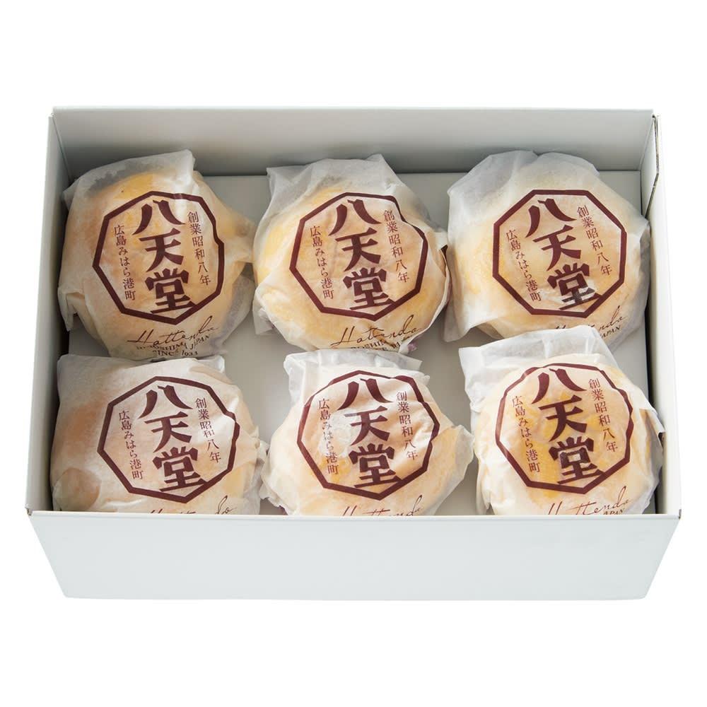 「八天堂」 くりーむパンあんバター (12個)【通常お届け】 6個入り×2段 計12個入り
