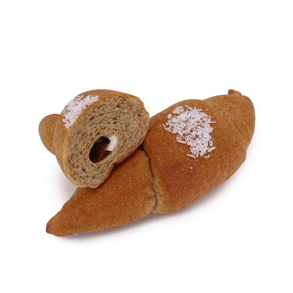 「フスボン」 もっちり低糖質パン 10個セット ラムレーズンクリームwith有機ココナッツ