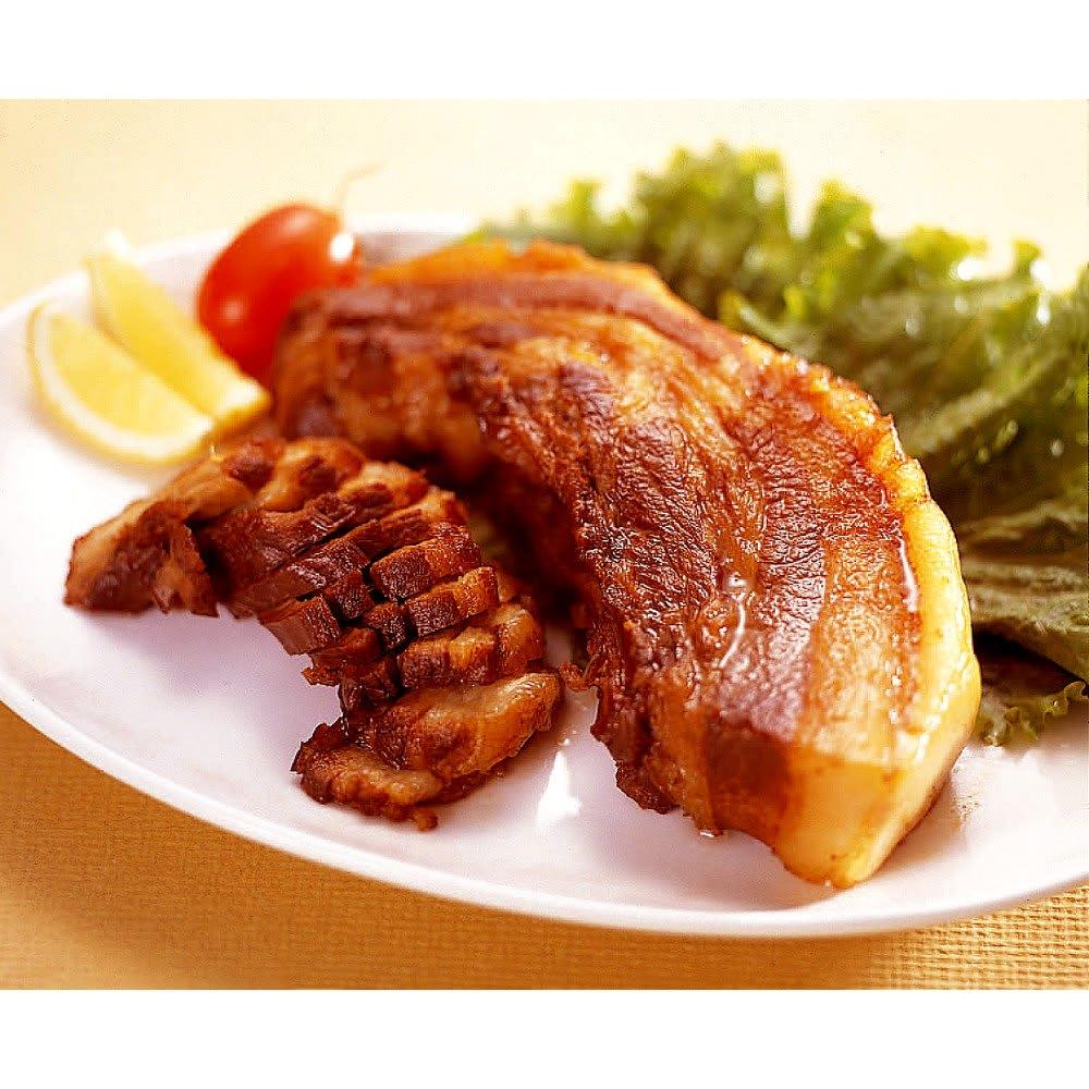 「焼き豚P」 豚バラ肉のチャーシュー(300g×2袋) 調理例