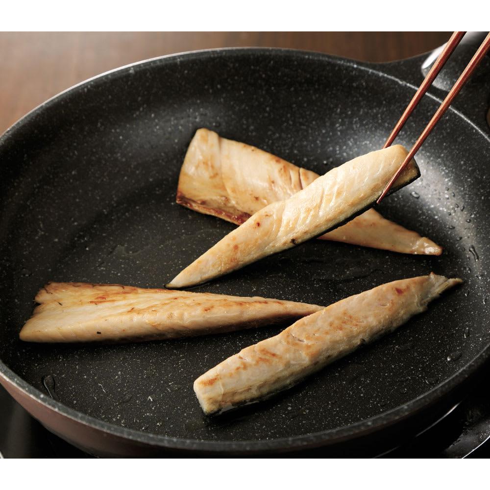 三陸産 金華さばスティック (250g×4袋) フライパンでさっと焼いて召し上がれます。