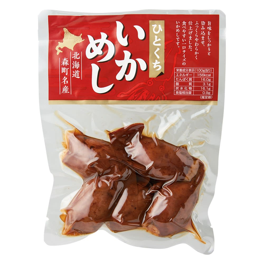 お徳用 ひとくちいか飯 (200g×4袋) お届けパッケージ