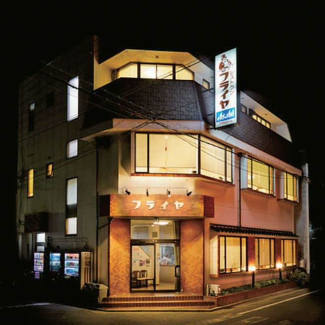 「レストランフライヤ」 厚切り牛タンシチュー (200g×4袋) 昭和を感じるレトロで温かな佇まい。1933年フライヤ食堂として開業以来、本格日本洋食店として伝統を重ねています。