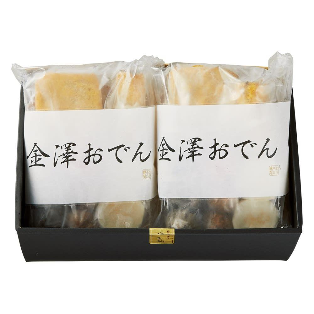 「赤玉本店」 金澤おでん8種セット 商品パッケージ