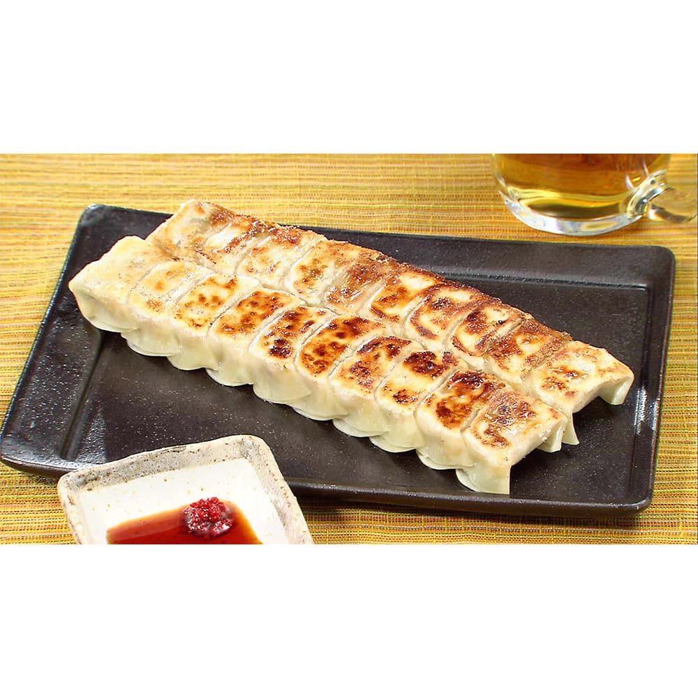 博多「うま馬」 ひとくち餃子 (30個×4パック) 【調理例】お酒との相性がとても良い餃子。