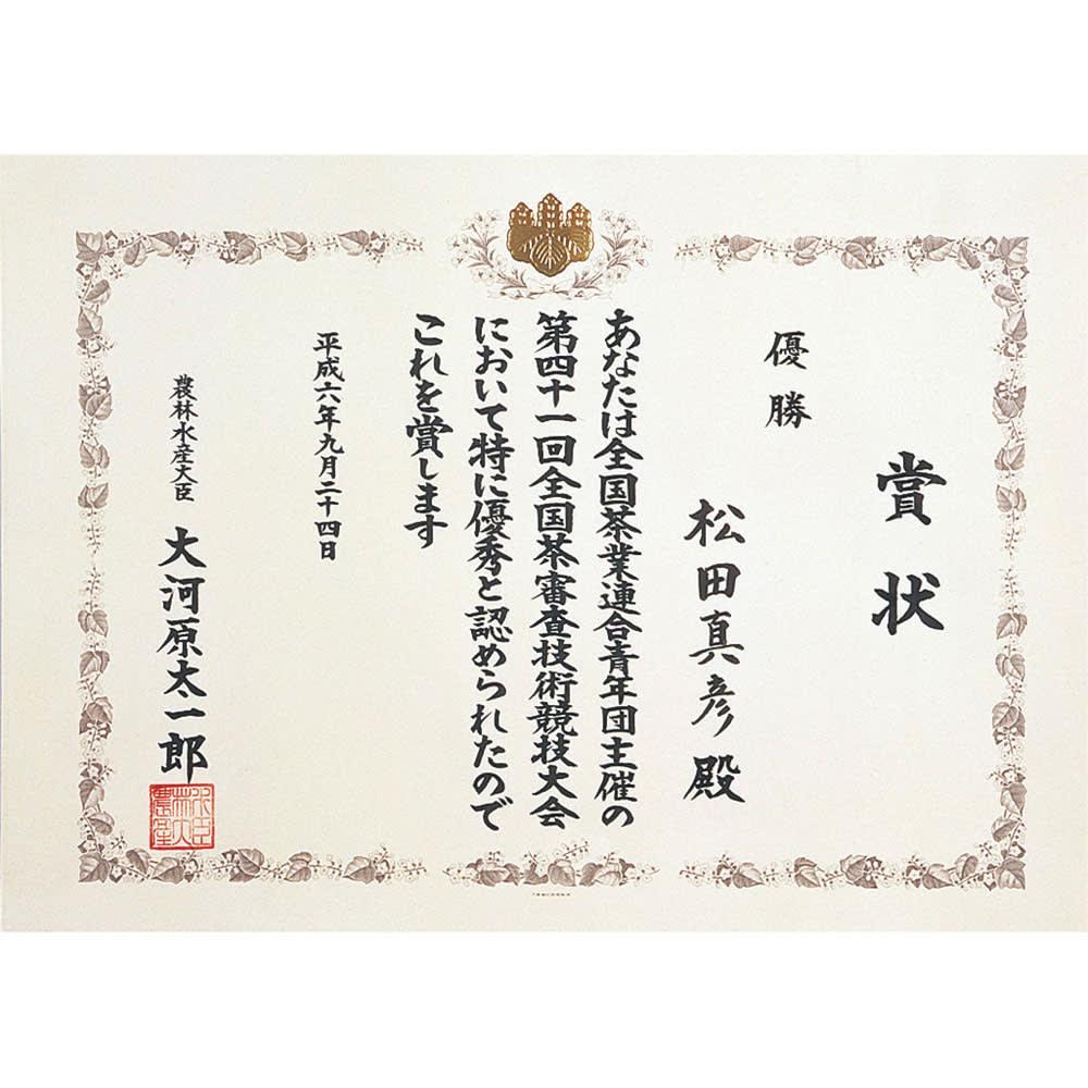 利き茶日本一の特薦茶 (100g×5袋) 第41回全国茶審査技術競技大会にて優勝(農林水産大臣賞)