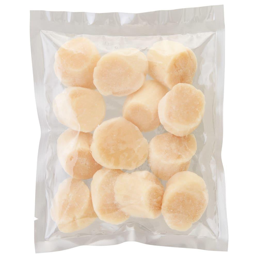 無選別 北海道産 帆立貝柱 (240g×3袋) お届けパッケージ