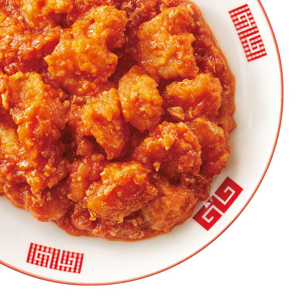 陳建一 四川大海老チリソース (150g×6袋) 【盛り付け例(3袋分)】麺やパスタに絡めたり、パンにのせたりとアレンジも自在。