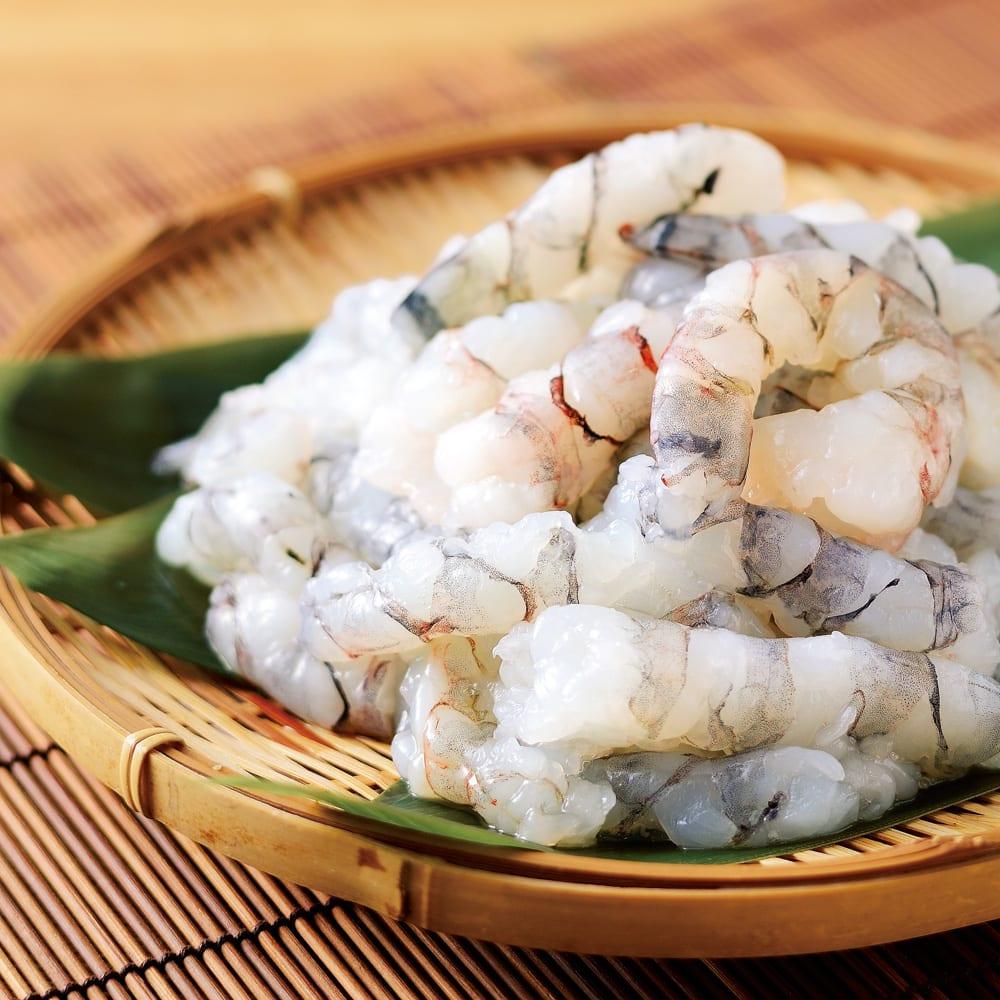 グルメ 食品 魚 海産物 海産生鮮品 プリプリ ブラックタイガーのこわれ (500g×2袋) FK4610