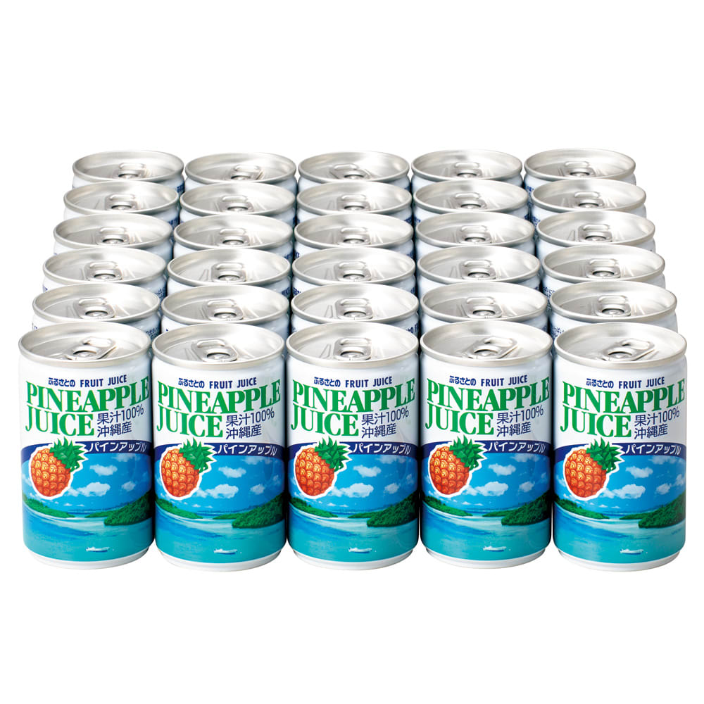 沖縄産 パインアップルストレートジュース (160g×30缶)