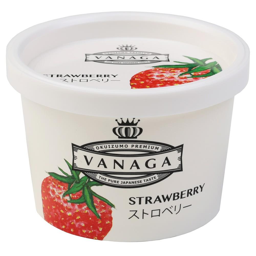 木次乳業「VANAGA(バナガ)」 アイスクリーム (5種 計12個) いちご