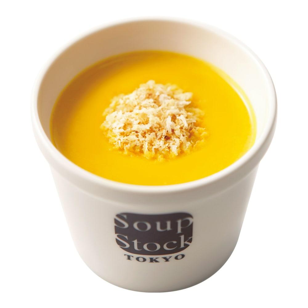 Soup Stock Tokyo(スープストックトーキョー) スープ詰合せ(計19袋) 北海道産かぼちゃのスープ(盛り付け例)