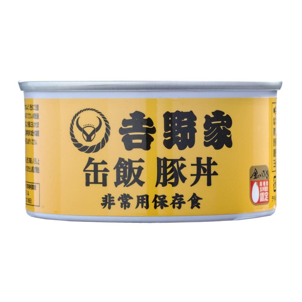 吉野家 缶飯豚丼 6缶セット (各160g) 商品パッケージ