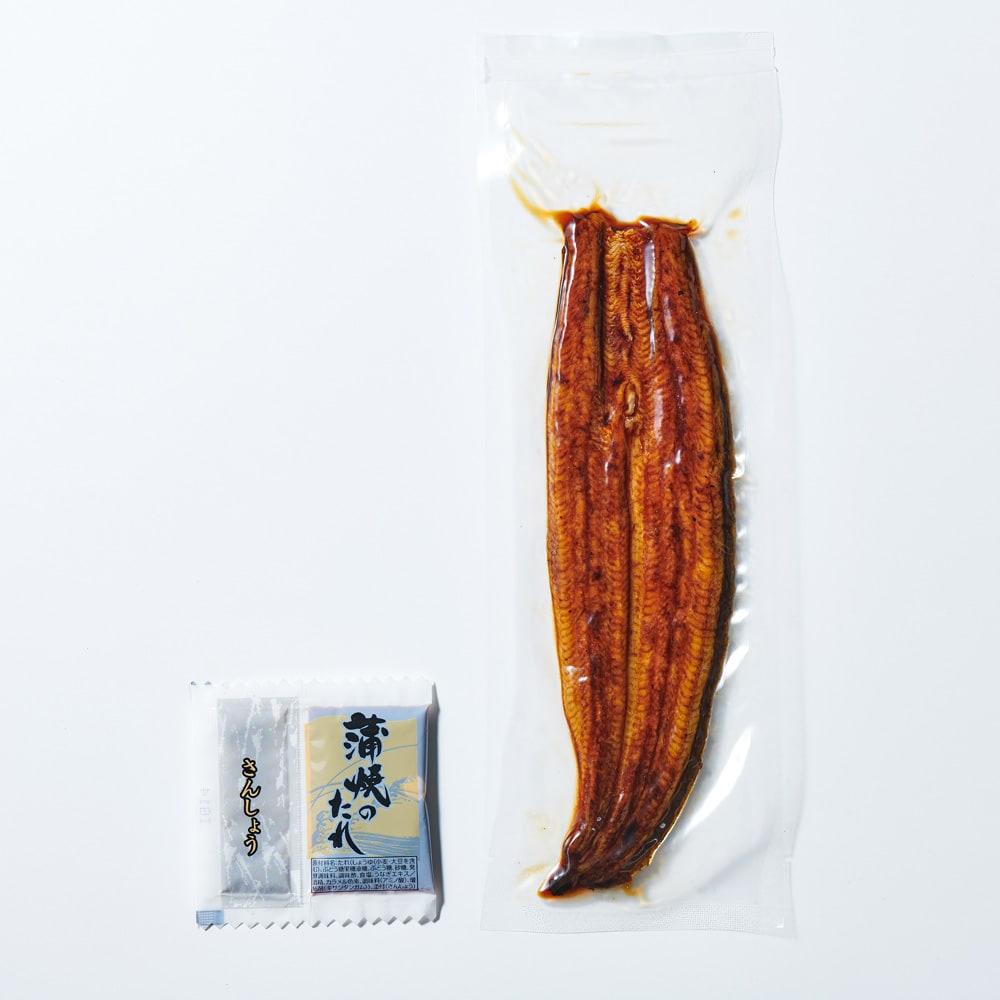 愛知三河産 うなぎ蒲焼(無選別) 500g たれ・山椒付き