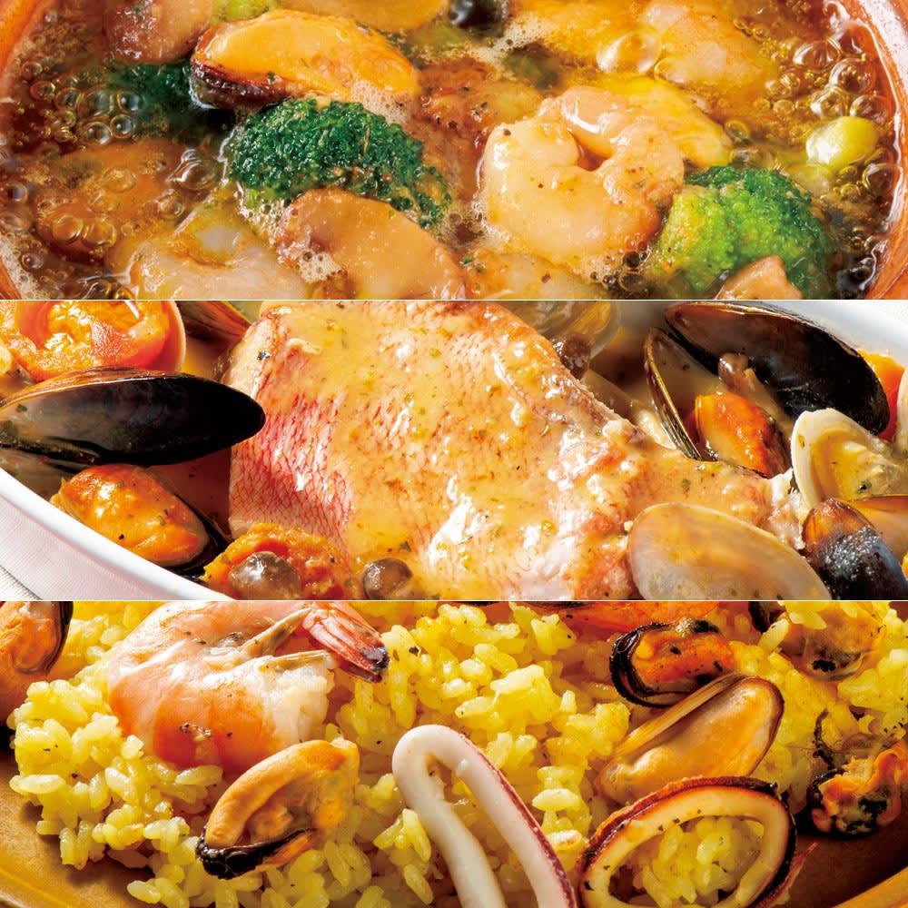 洋食惣菜のミール調理キット3種セット 【盛り付け例】