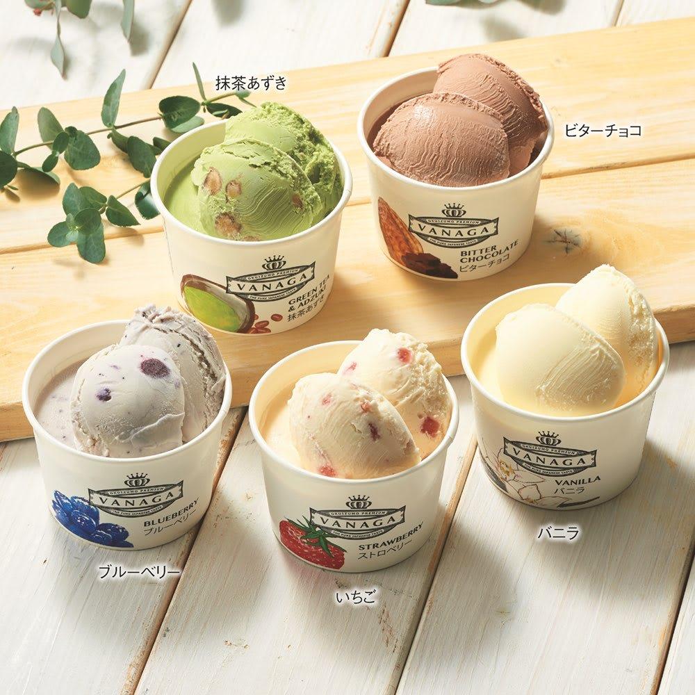 グルメ 食品 スイーツ 洋スイーツ 木次乳業「VANAGA(バナガ)」 アイスクリーム (5種 計12個) FG8315