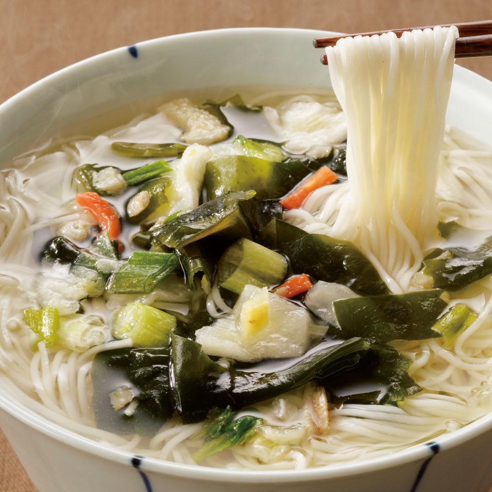 鳥菜にゅう麺 (8食セット) 麺類