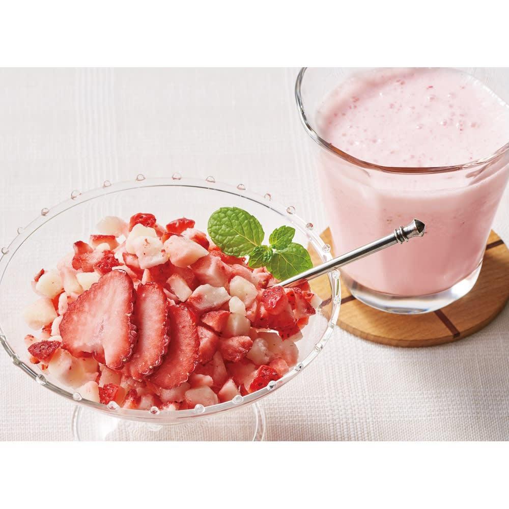 園村苺園 冷凍クラッシュいちご (200g×3袋) 冷凍野菜・冷凍フルーツ