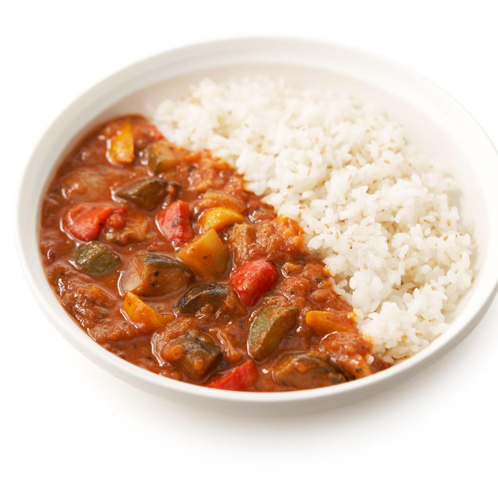 Soup Stock Tokyo(スープストックトーキョー) 夏の8種人気カレーセット 【盛り付け例】野菜とスパイスが溶け込んだラタトゥイユカレー
