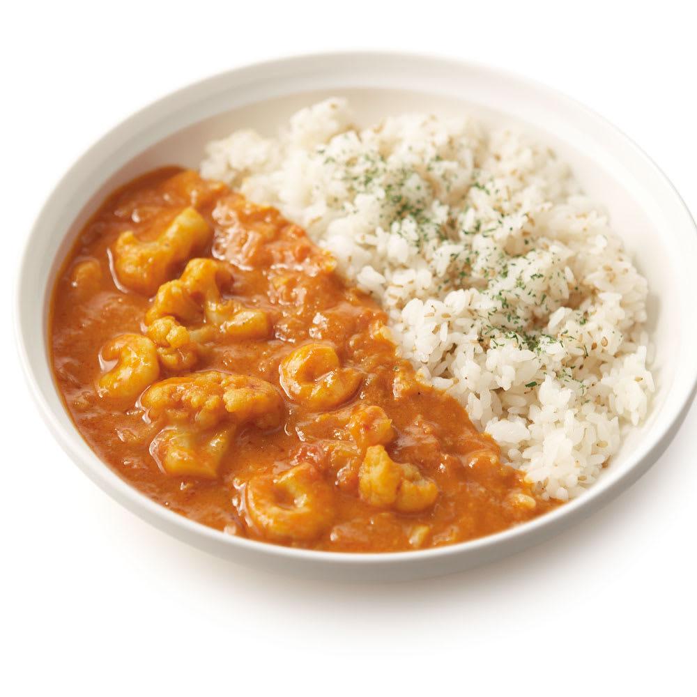 Soup Stock Tokyo(スープストックトーキョー) 夏の8種人気カレーセット 【盛り付け例】海老の旨味が広がるマイルドな海老のフレンチカレー