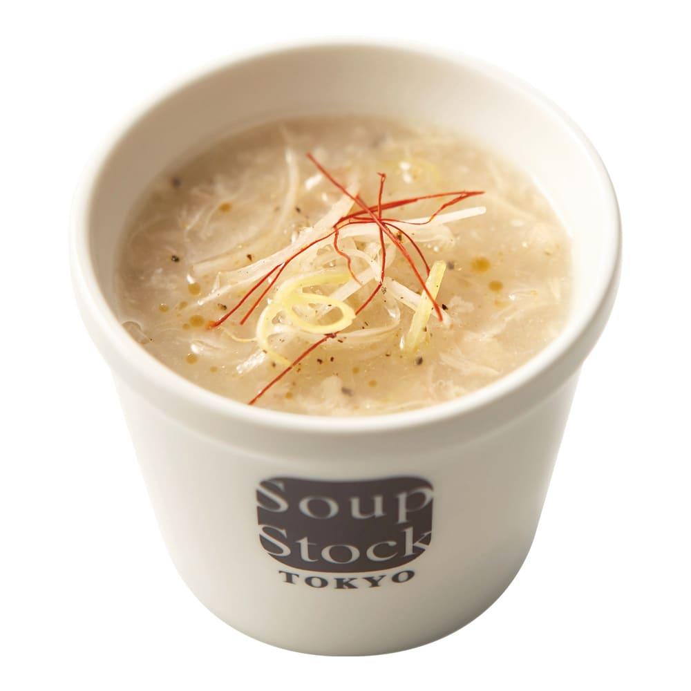 Soup Stock Tokyo(スープストックトーキョー) スープ詰合せ(計19袋) 東京参鶏湯(盛り付け例)