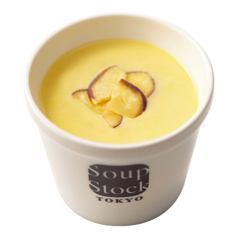 Soup Stock Tokyo(スープストックトーキョー) スープ詰合せ(計19袋) とうもろこしとさつま芋のスープ(盛り付け例)