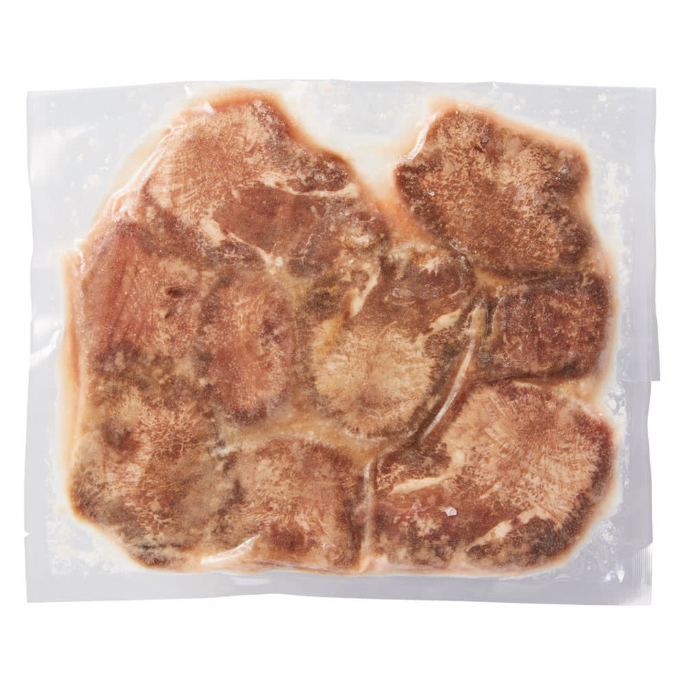 やわらか厚切り牛タン(塩麹) 500g 商品パッケージ