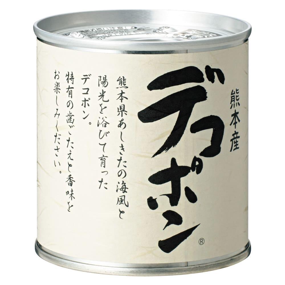 熊本産 デコポン缶詰 (295g×12缶) 商品パッケージ 295g(固形量170g)x12缶 常温でお届けいたします。 ※プルトップなので簡単に開けられます。