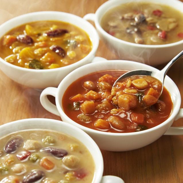 カゴメ 野菜たっぷりスープ 4種セット (各4袋 計16袋) 洋惣菜