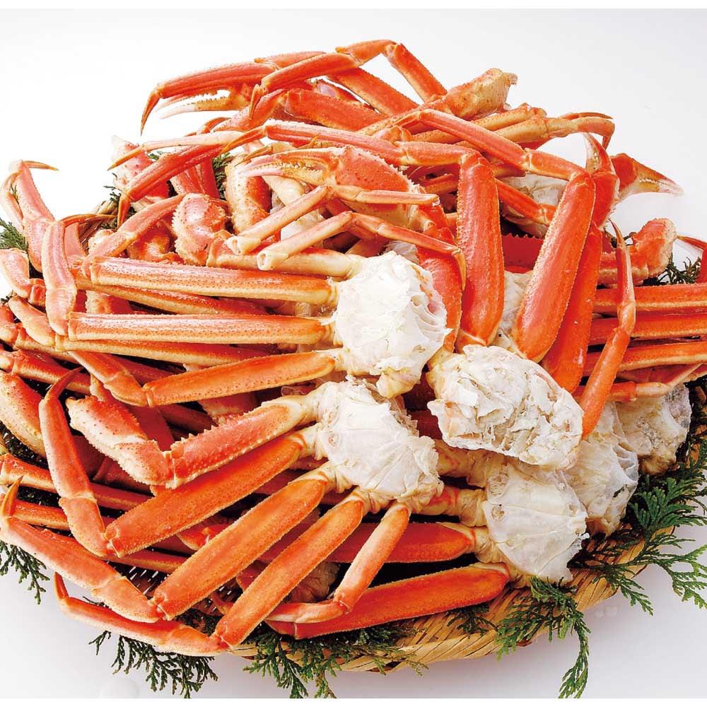 ワケありズワイガニの脚 3Lサイズ (5kg) 魚・海産生鮮品