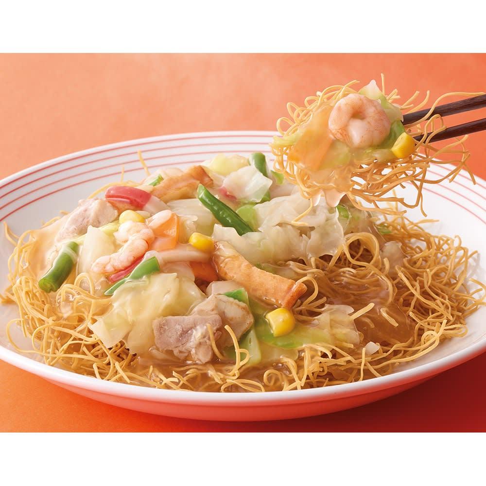 リンガーハット 長崎皿うどん (8食) 麺類