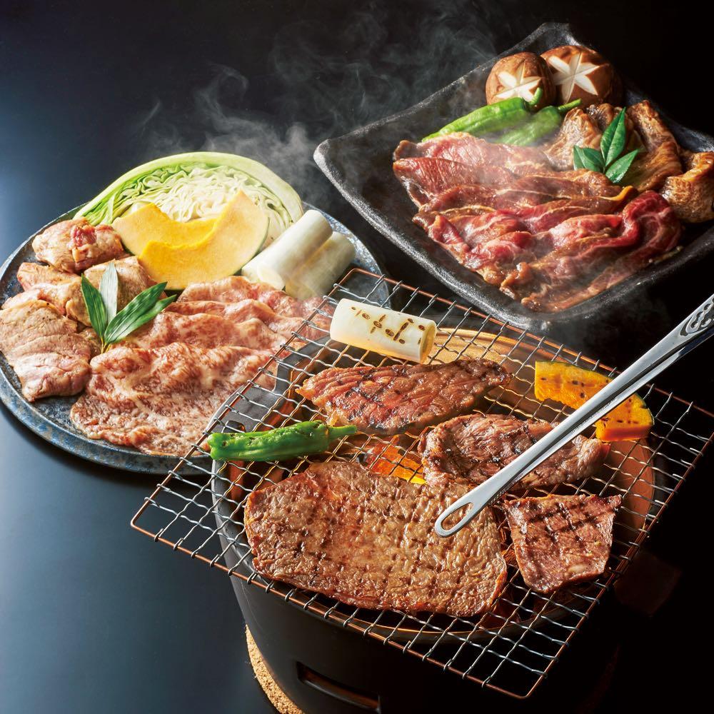 「焼肉ヒロミヤ」 人気焼肉セット(約2人前)(4種 計460g) 肉加工品