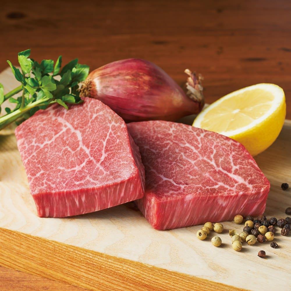 グルメ 食品 肉 卵 乳製品 山形牛シャトーブリアン (100g×2枚) 【通常お届け】 FJ7617