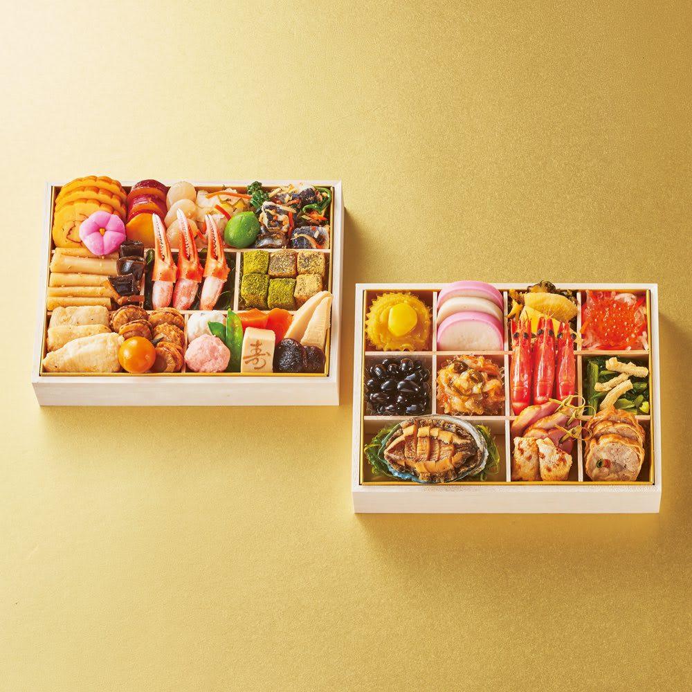 東西料亭の饗宴 「神玄」二段重 (約2~3人前) 和惣菜
