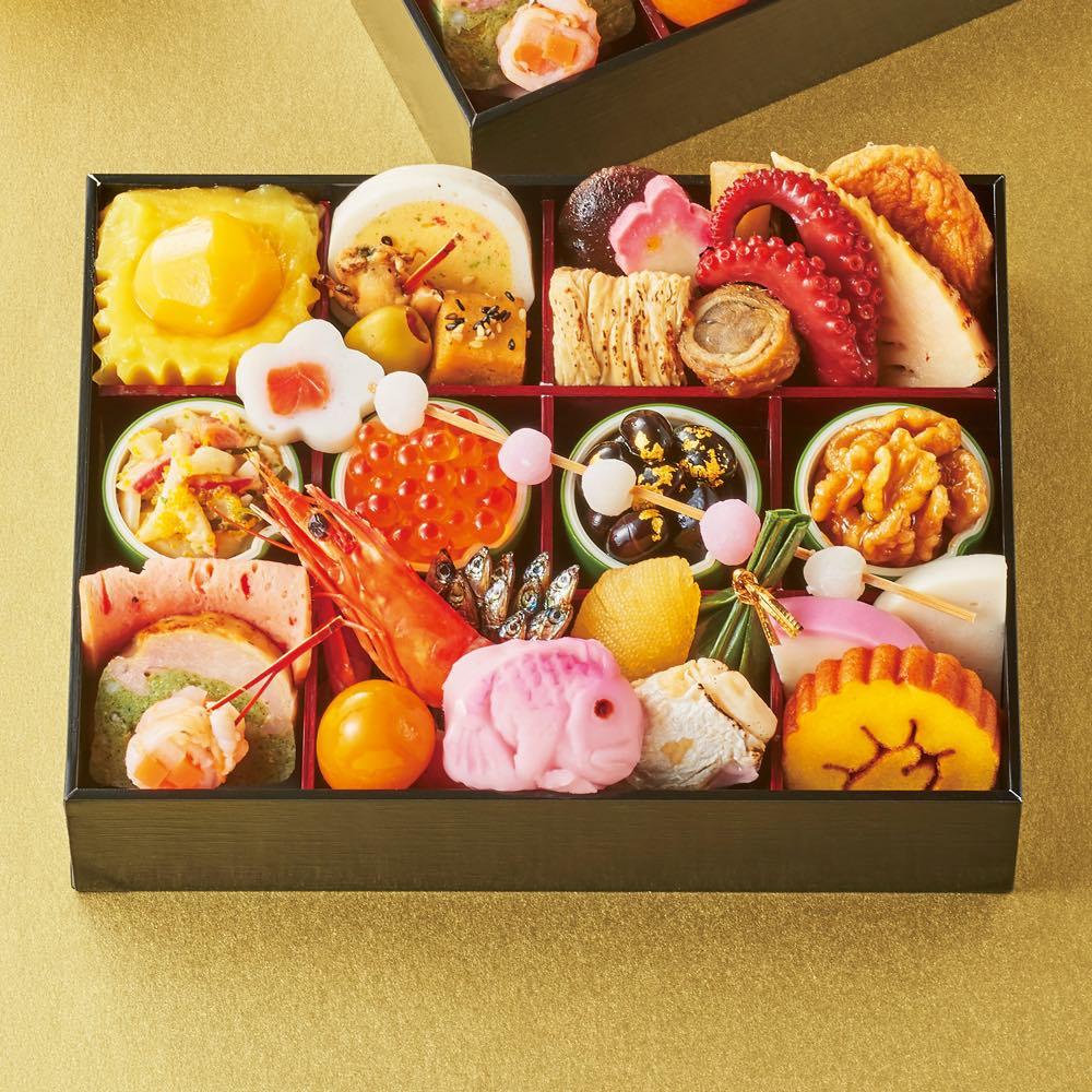 ディノス推奨おもてなしおせち 三組(祝箸3膳付き) 和惣菜