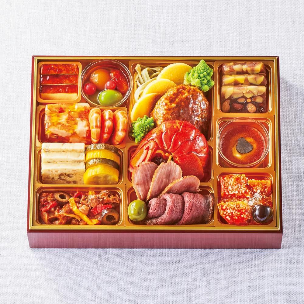 「レストラン大宮」監修 オードブルおせち一段重 (約3人前) 洋惣菜