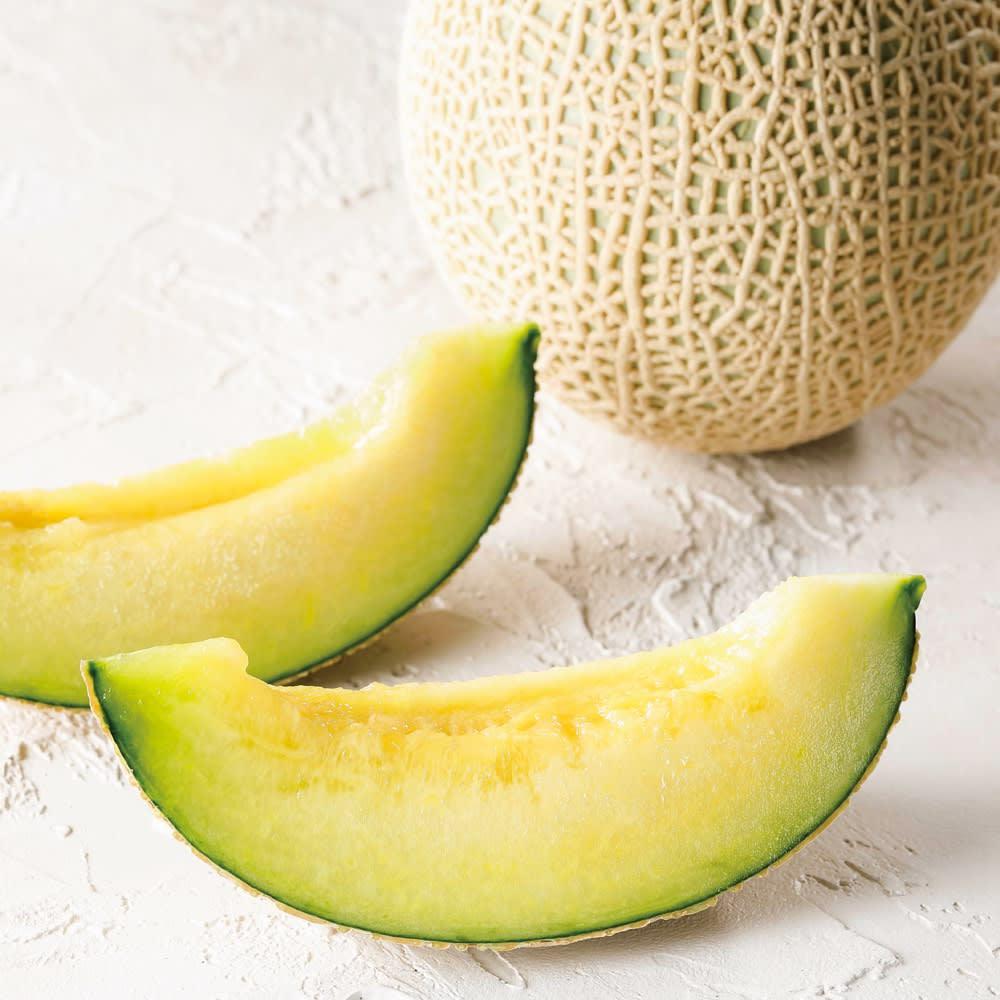 鹿児島産 dのメロン 2玉 フルーツ