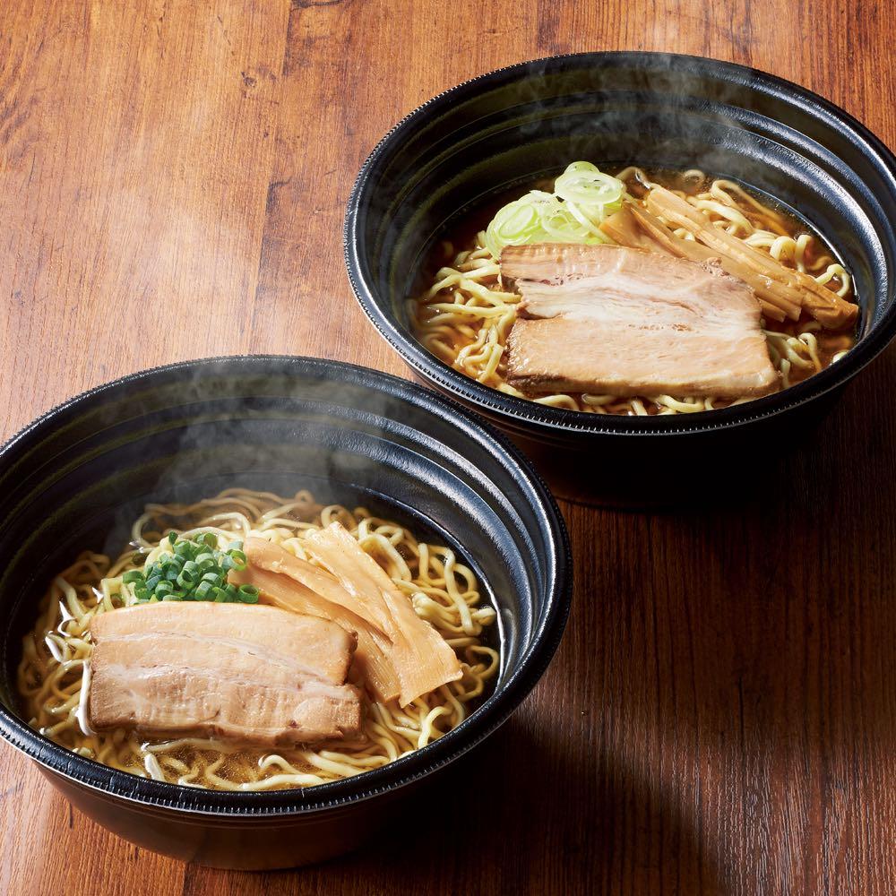 「河京」 喜多方ラーメン レンジ麺8食セット 麺類