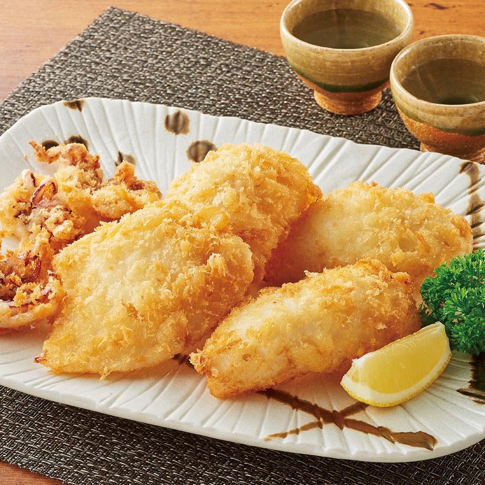 白いかのフライ (210g(4~5枚)×2パック) 洋惣菜