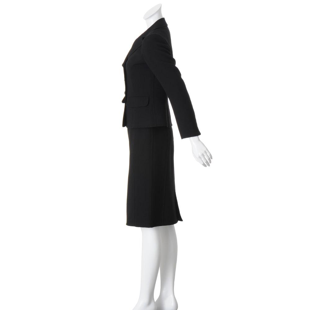「NIKKE」 ウールダブルクレープ スーツセット(ジャケット+スカート)