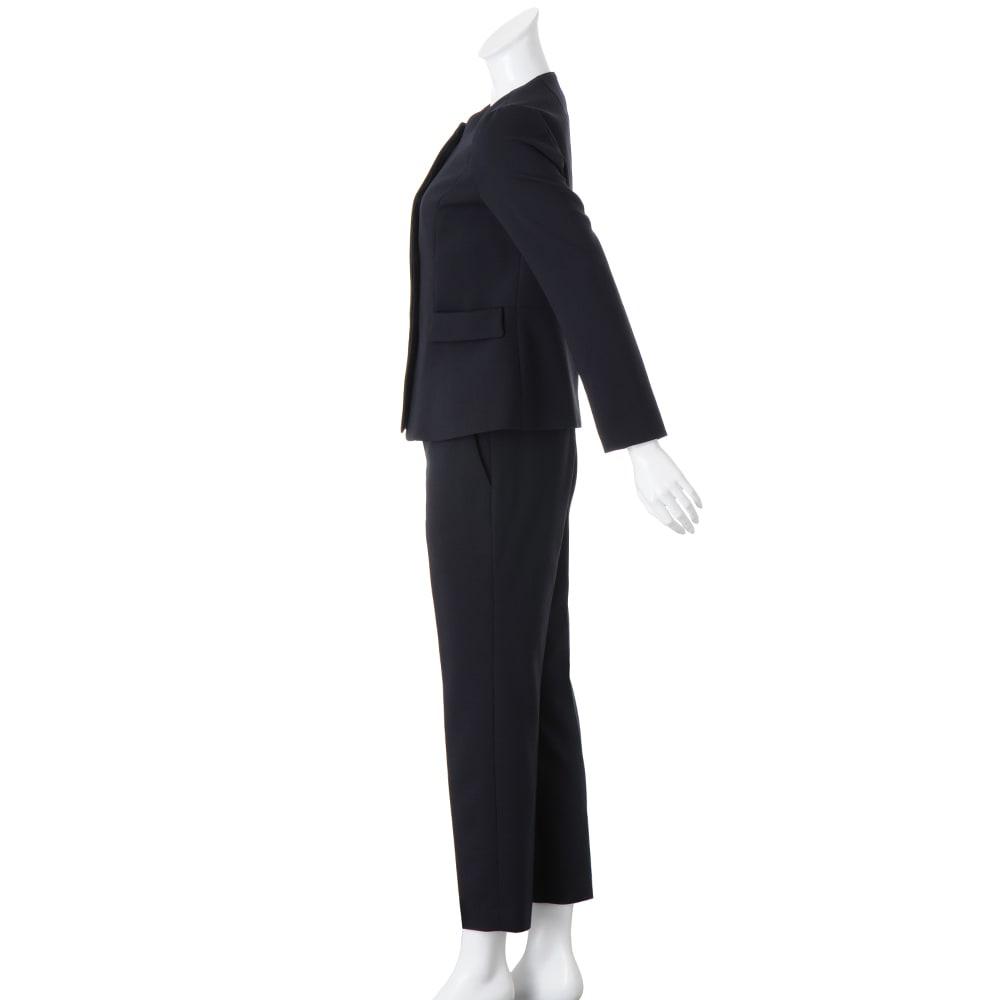 ストレッチ ダブルクロス スーツセット(ジャケット+パンツ)