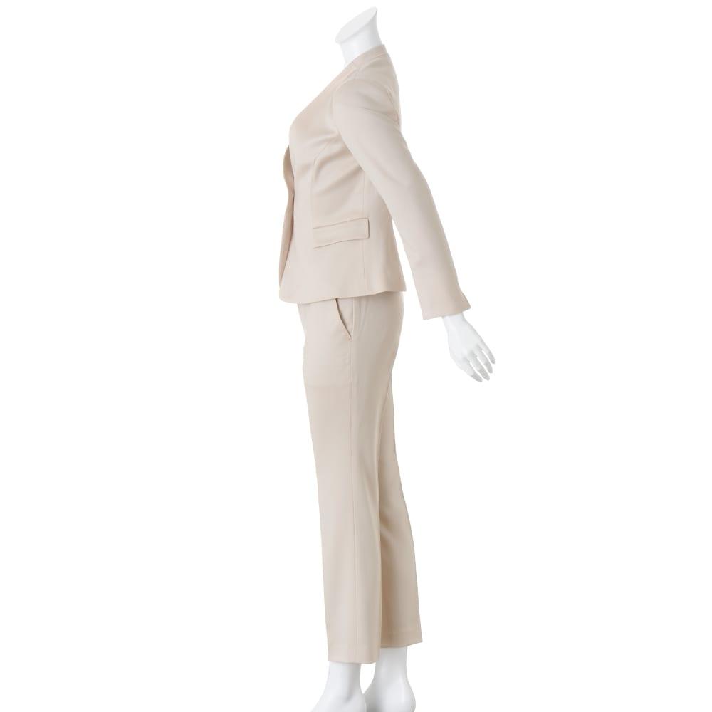 ウールベネシャン スーツセット(ジャケット+パンツ) 【股下丈68cm】